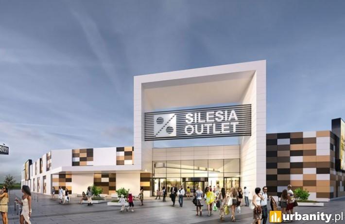 Wizualizacja inwestycji Silesia Outlet