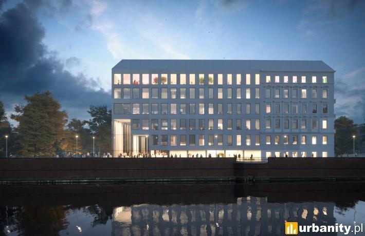 Tak prezentowała się będzie Concordia Hub we Wrocławiu (fot. MVRDV)