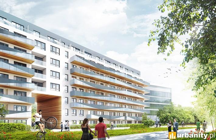 Osiedle Nordic Mokotów w Warszawie - projekt architektoniczny