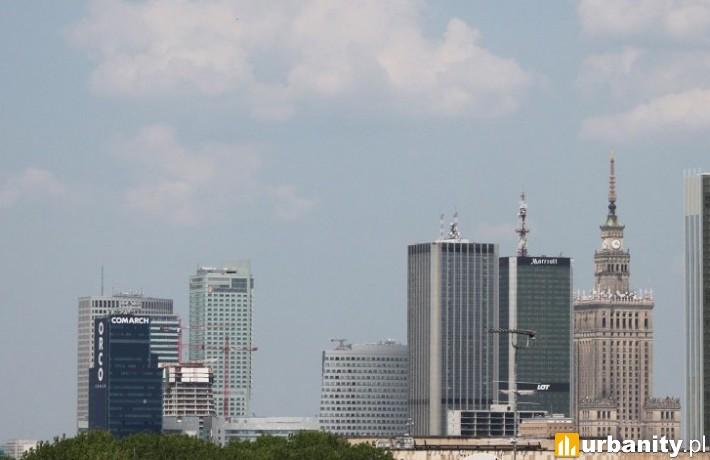 Wstępna koncepcja 17-metrowego wieżowca przy Nowogrodzkiej