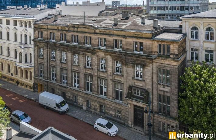 Była siedziba Banku Towarzystwa Wzajemnego Kredytu Przemysłowców Łódzkich (fot. um.lodz.pl)