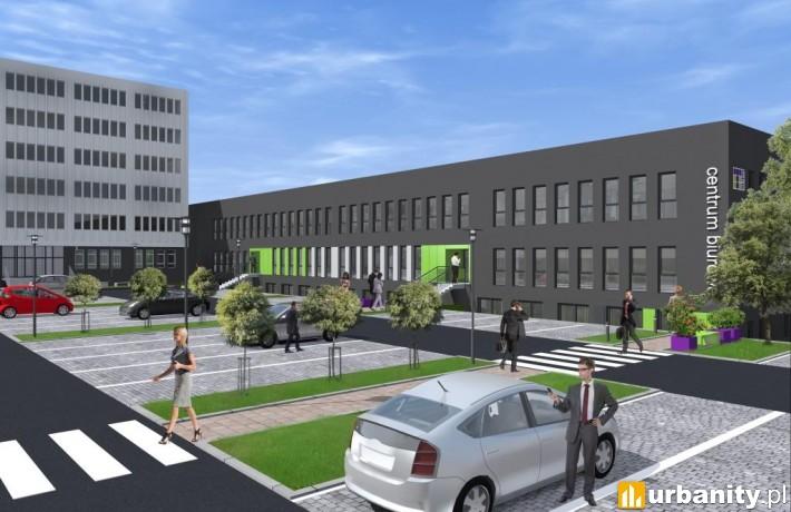 Projekt centrum biurowego w Katowicach - Tetris