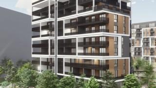 Projekt budynku C osiedla Inspire