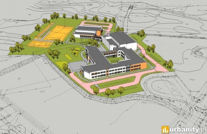 Metropolitarna Szkoła Podstawowa w Kowalach - wizualizacja