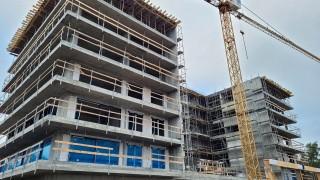 Nautic Park - postęp prac na budowie styczeń 2021 r.