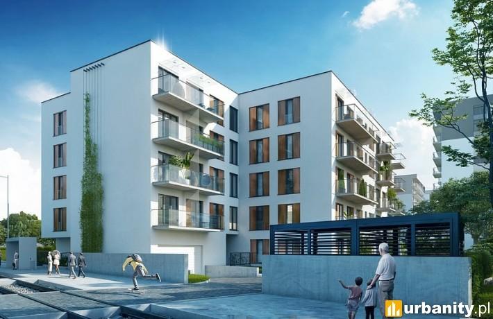 Wizualizacja inwestycji Pomorska 185 w Łodzi