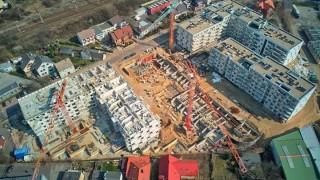 Postęp prac na budowie Apartamentów Jana z Kolna - maj 2020 r.