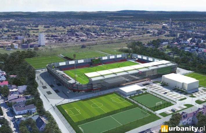 Projekt Centrum Piłki Nożnej w Częstochowie