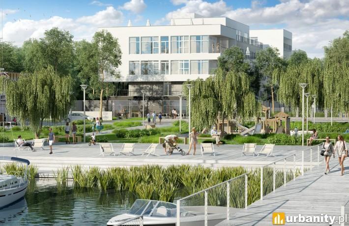 Wizualizacja projektu Molo Park w Mielnie