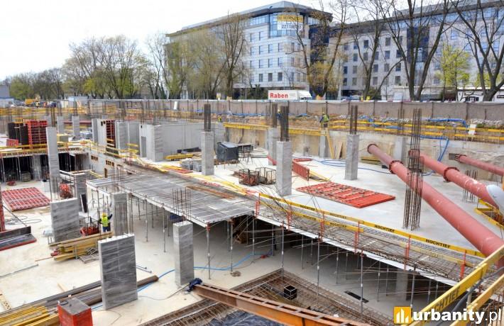 Obecny stan budowy inwestycji P4 w Warszawie