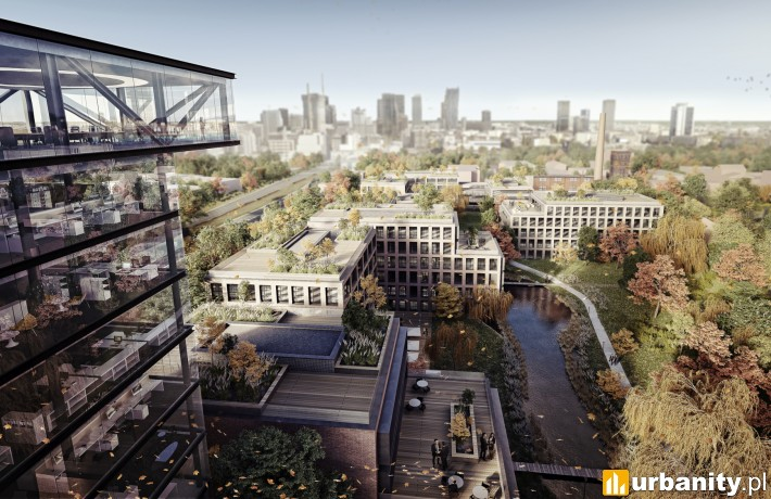 Koncepcja architektoniczna nowej siedziby PGNiG