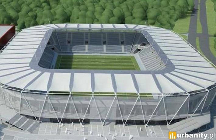 Projekt rozbudowy stadionu miejskiego w Łodzi