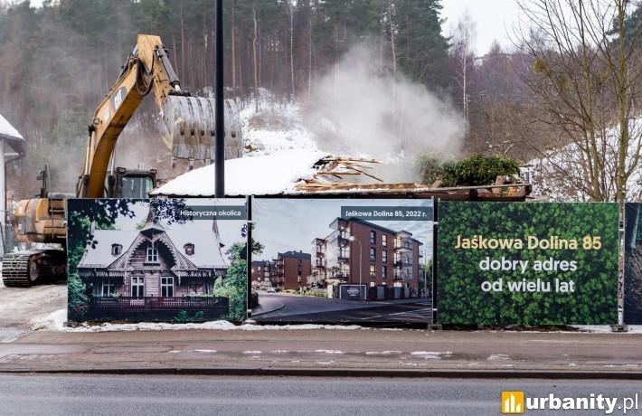 Rusza budowa inwestycji Villa Jaśkowa Dolina w Gdańsku