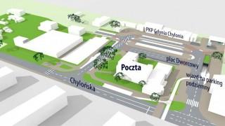 Budowa węzła integracyjnego w Gdyni-Chyloni