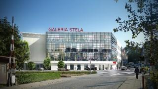 Projekt Galerii Stela w Cieszynie - wizualizacja