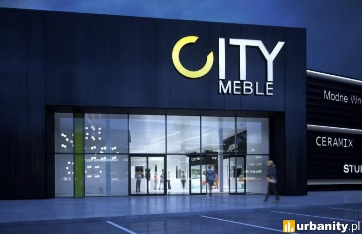 Galeria Wnętrz City Meble w Gdańsku - wizualizacja