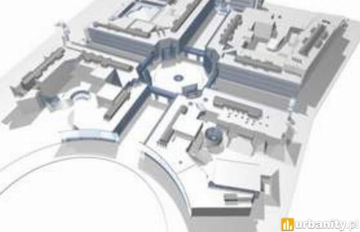 Projekt nowego kampusu Uniwersytetu w Białymstoku