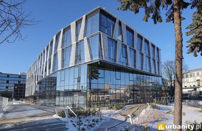 Kompleks biurowy Tensor w Gdyni - postęp prac