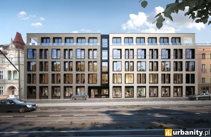 Wizualizacja budynku biurowego Officyna w Gdańsku