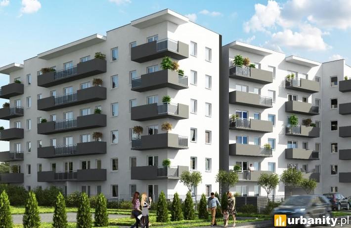 Osiedle Malta26 w Poznaniu - wizualizacja
