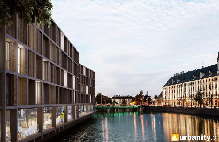 Projekt inwestycji apartamentowej Marina III we Wrocławiu