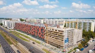 Budowa inwestycji Pixel we Wrocławiu - wrzesień 2019 r.