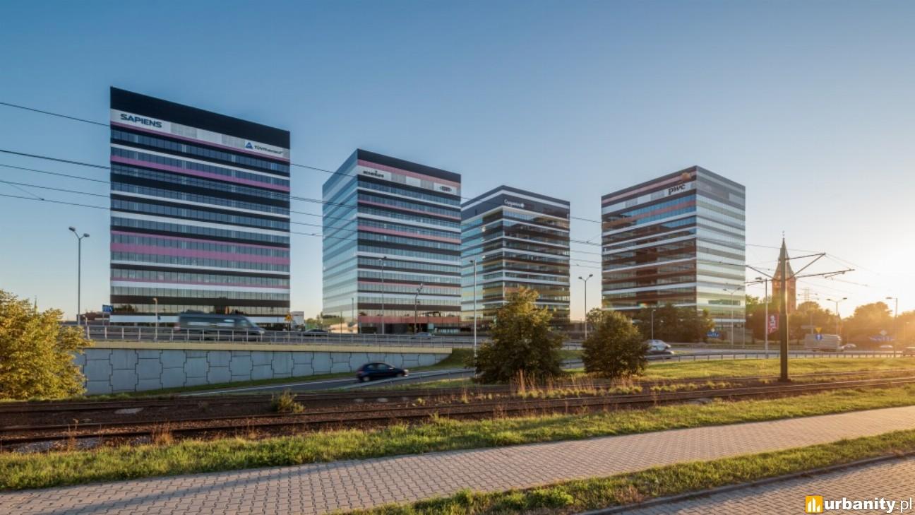 Sprzedane budynki w kompleksie Silesia Business Park