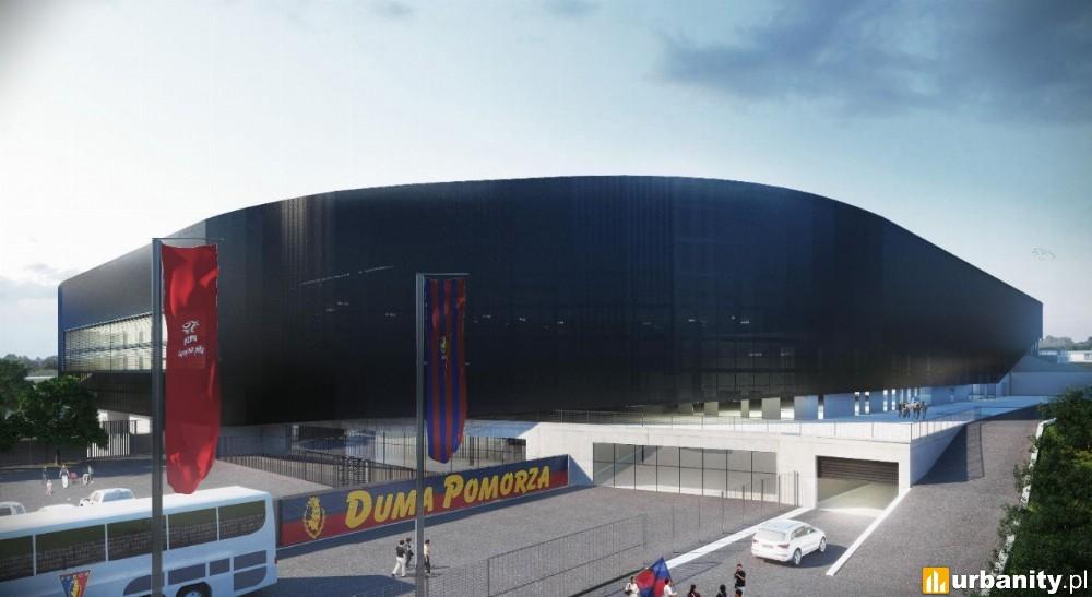 Więcej szczegółów budowy nowego stadionu w Szczecinie