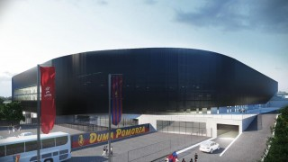 Projekt nowego Stadionu Miejskiego w Szczecinie