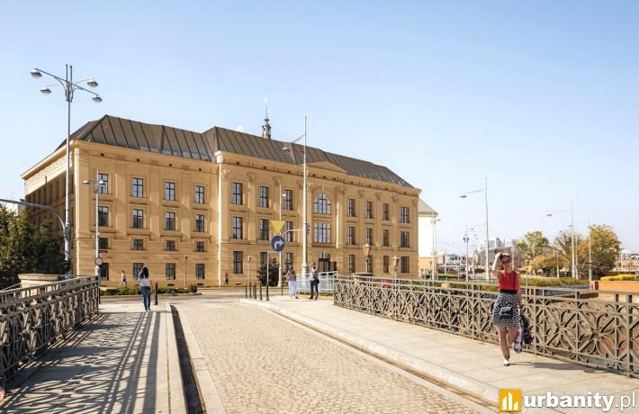 Inwestycja L'UNI we Wrocławiu - wizualizacja