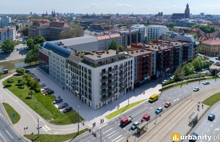Projekt inwestycji Jagiełły 6 we Wrocławiu