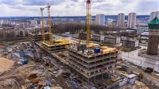 Budowa Pierwszej Dzielnicy - marzec 2020 fot. TDJ Estate