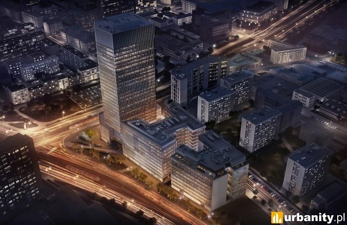 Projekt warszawskiego kompleksu Spark
