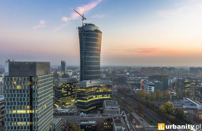 Oddanie do użytku budynku C kompleksu Warsaw Spire