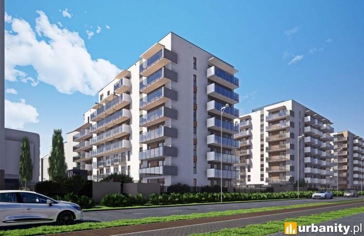 Apartamenty Dmowskiego - wizualizacja