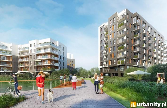 Budynek nr 10 na osiedlu Lake Park Apartments w Warszawie