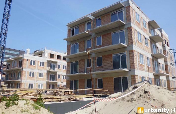 Tak wygląda obecnie budowa osiedla Miasteczko Wawer