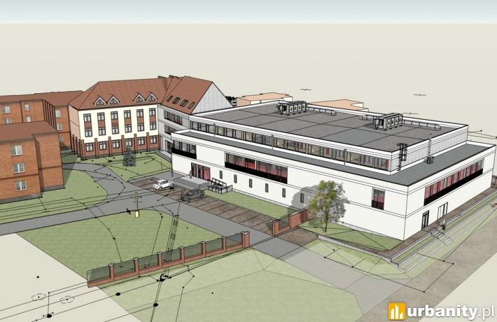 Sala gimnastyczna przy Zespole Szkół Technicznych w Kaliszu