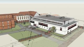 W Kaliszu powstaje sala gimnastyczna przy Zespole Szkół Technicznych