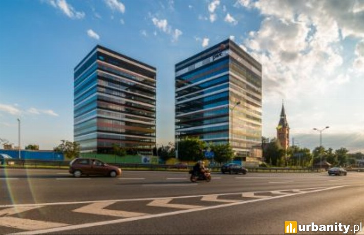Dwa gotowe biurowce kompleksu Silesia Business Park