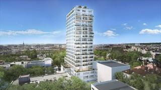 Wizualizacja inwestycji Sky Garden w Warszawie