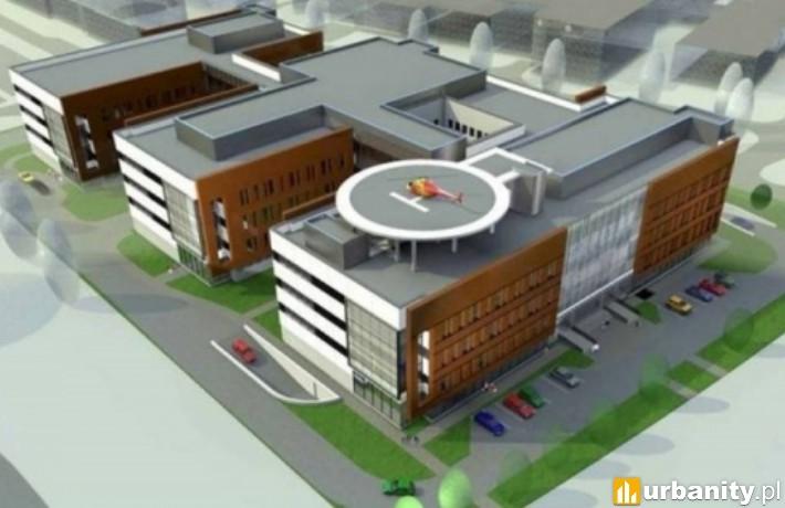 Szpital Południowy - wizualizacja
