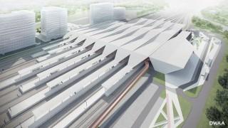 Nowy Dworzec Zachodni w Warszawie - wizualizacja