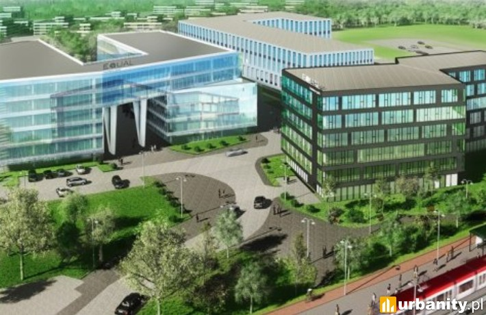 Equal Business Park - projekt całego kompleksu