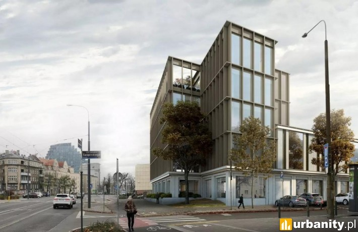 Nowy biurowiec MTP przy Grunwaldzkiej