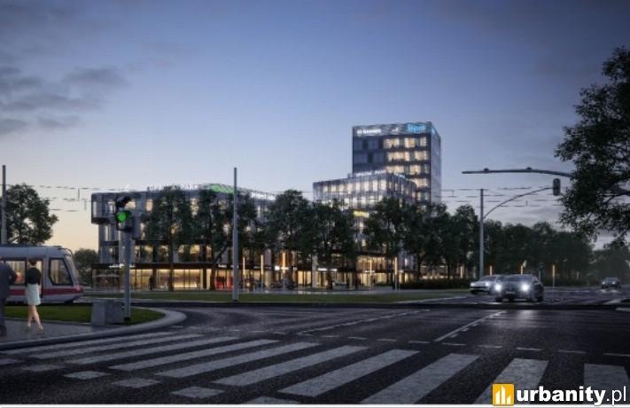 Wizualizacja kompleksu Opacka Park w Gdańsku