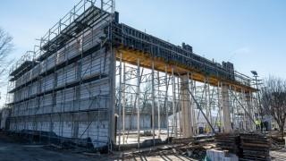 Wmurowanie kamienia węgielnego pod budowę hali sportowej (fot. wroclaw.pl)