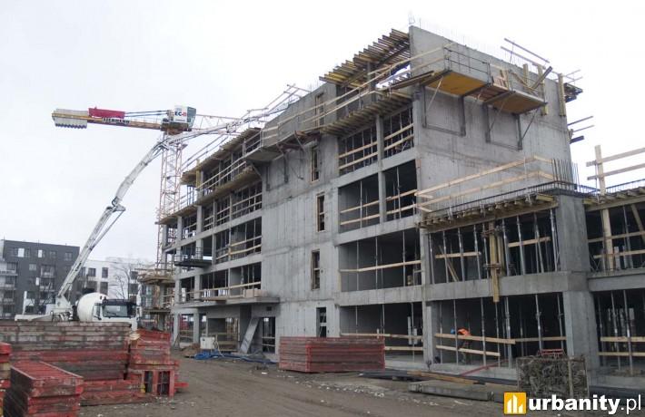 Budowa inwestycji LifeTown w Warszawie - grudzień 2019 r