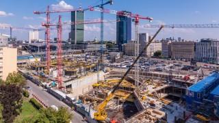 Tak powstaje wieżowiec Varso w Warszawie