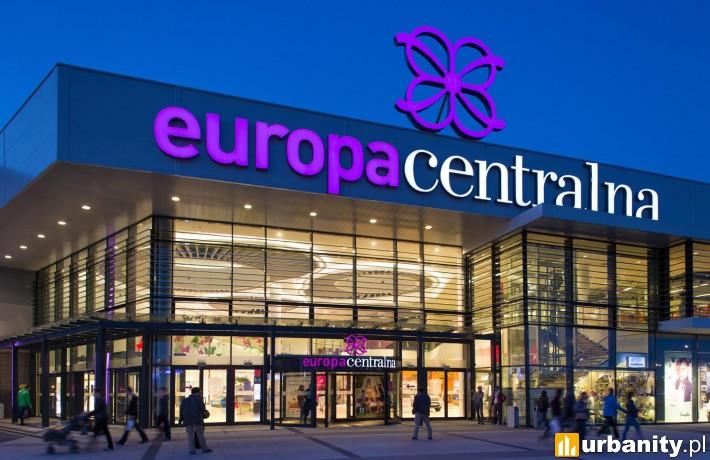 Park handlowy Europa Centralna